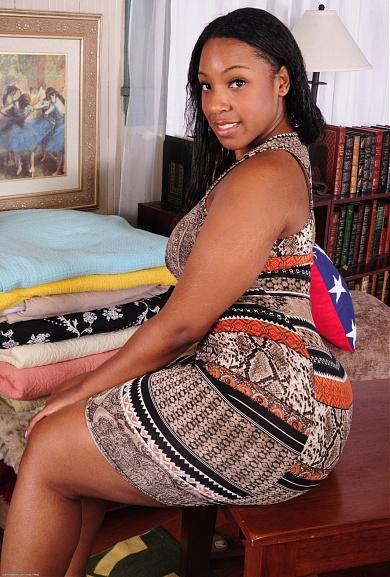 Black model Amber Love