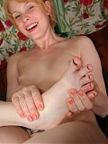 ATK Amber Shaved Pussy