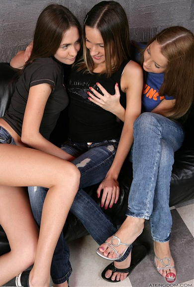 ATK Models Andrea and Mika and Karina