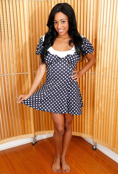 Black model Anya