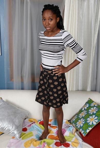 Black model Brie Dawn