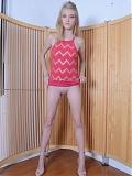 Blonde Hannah Hays