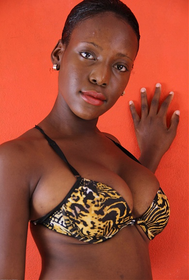 Black model Kimmie