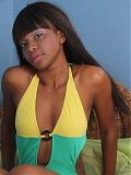 Black model Kizzy