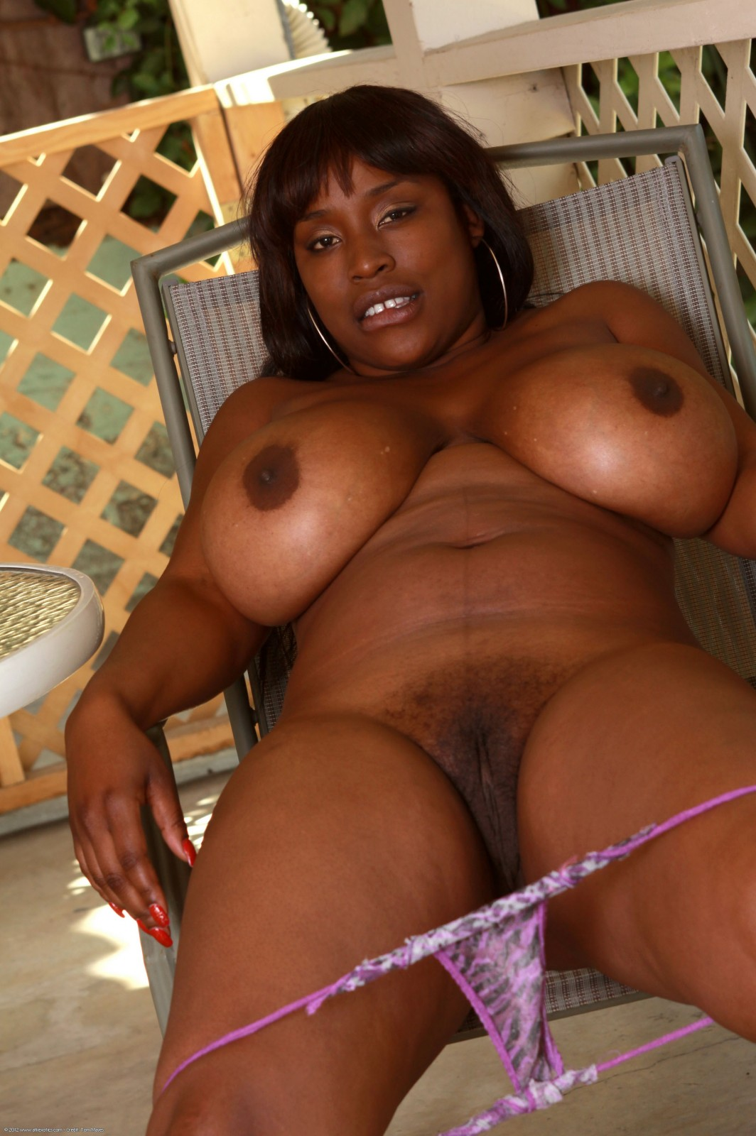 big and thick black atk model melissa reed at atk models