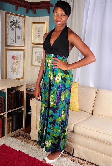 Black model Parris Love