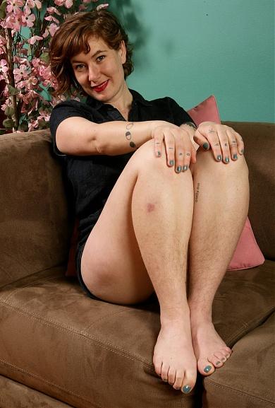Hairy Silvia Sinclair
