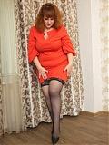 Curvy Hairy MILF Katrin Porto