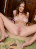 Sexy coed Olivia Blu