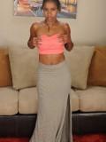 Black model Marie Starr