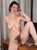 Hairy babe Melissa